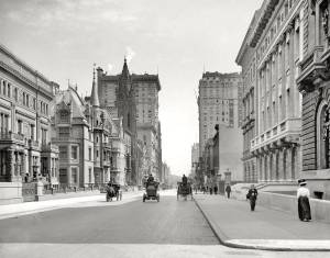 Streets of New York City, 1908