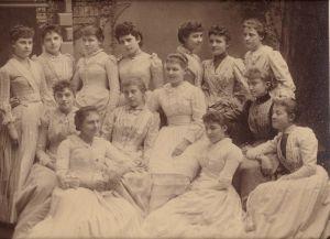 Holyoke Girls' Cooking Club, c. 1880s
